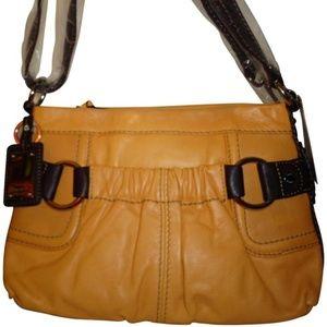 NWT TIGNANELLO TOUCHABLES TAN/BROWN CROSSBODY BAG